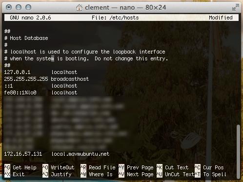 Fichiers hosts